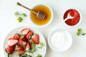 Hỗn hợp chống lão hóa da từ dâu tây