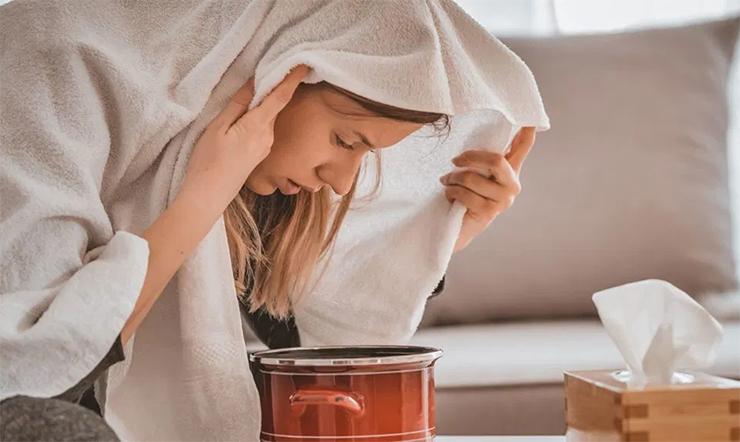 Xông hơi nóng giúp loại bỏ độc tố cho da