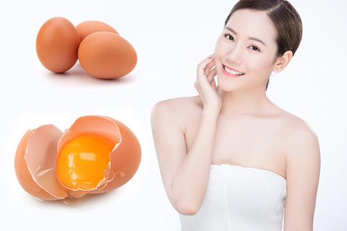 Làm đẹp da mặt từ trừng gà, giúp da mặt căn mịn và bóng sáng hơn