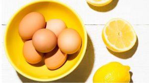 Làm đẹp từ chanh tươi và trứng