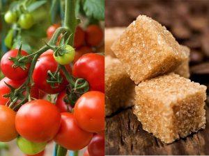Cách là đẹp da mặt với hỗn hợp cà chua, đường nâu và sữa tươi