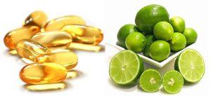 Hợp chất tẩy trắng da hiệu quả từ vitamin E và chanh tươi