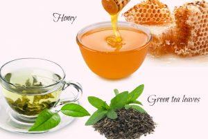 Trà và mật ong đều có khả năng làm đẹp, căn mịn da
