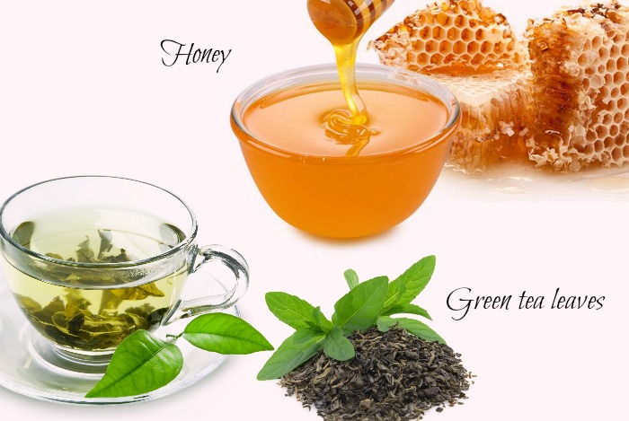 Trà và mật ong giúp ức chế hình thành nám da