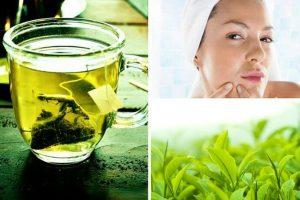 Chia những mẹo làm đẹp từ trà xanh