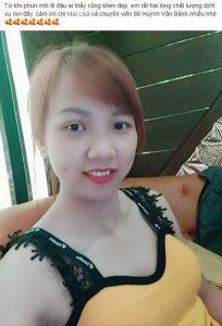 review dịch vụ phun môi tại Mailisa mang lại đôi môi đẹp