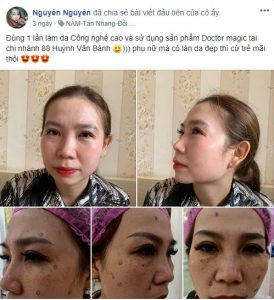 review mỹ phẩm Doctor Magic