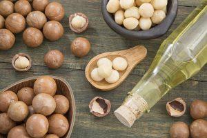 Hạt macca cung cấp nhiều chất xơ chống táo bón