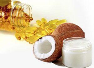 Tác dụng làm đẹp da từ dầu dừa và vitamin E