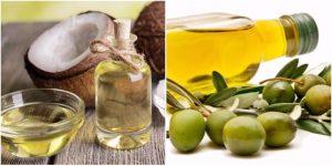 Tác dụng làm đẹp da từ dầu dừa và dầu oliu