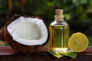 Tác dụng làm đẹp da từ dầu dừa và chanh