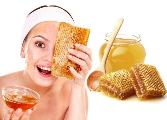Sửa dụng mật ong để làm mờ vế thâm và trị sẹo