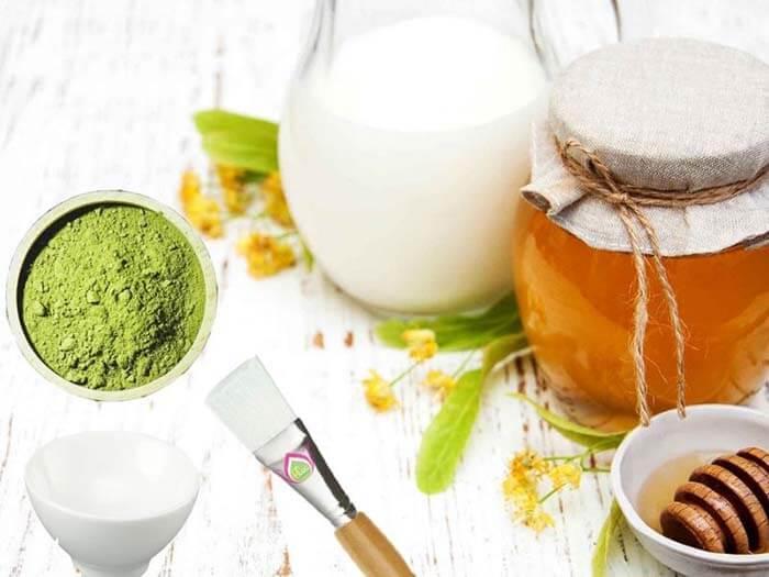Công dụng của làm đẹp da mặt từ mật ong và trà xanh