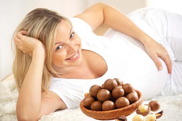 Ăn hạt macca mỗi ngày rất tốt cho phụ nữ mang thai