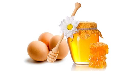 Làm đẹp bằng trứng gà và mật ong