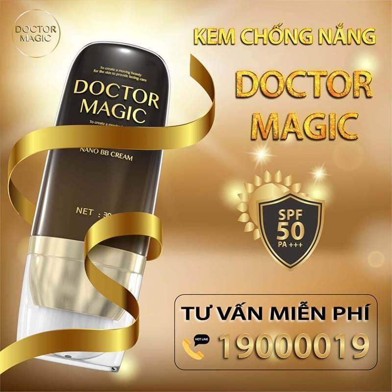 Kem chống nắng Doctor Magic có tốt không