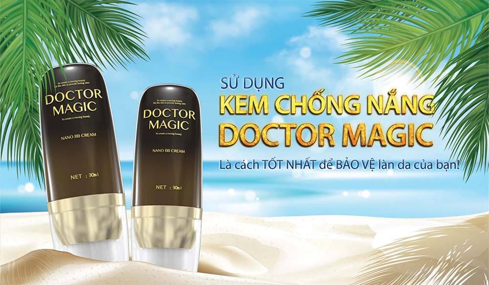 Cảm nhận kem chống nắng Doctor Magic