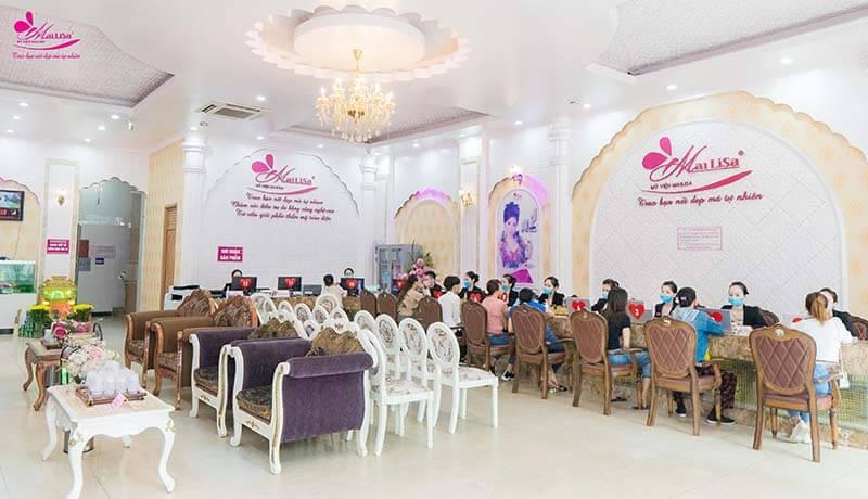 tư vấn viên tại thẩm mỹ viện Mailisa ở Vinh - Nghệ An