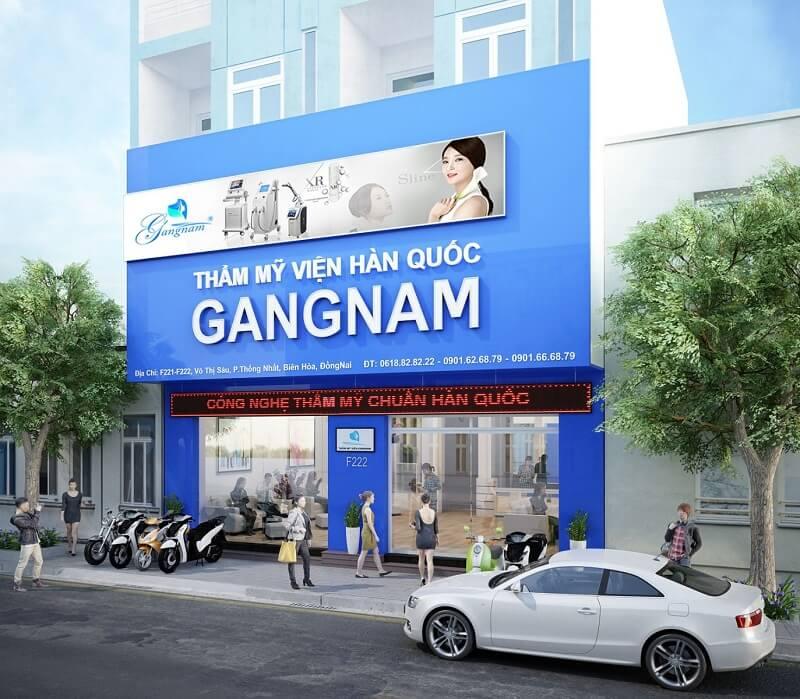 địa chỉ thẩm mỹ viện Gangnam