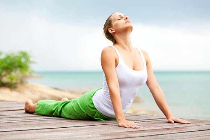 tập Yoga để thanh lọc cơ thể