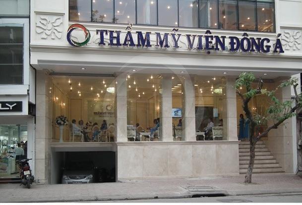 thẩm mỹ viện Đông Á ở Hà Nội