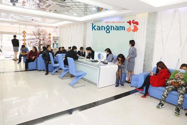 địa chỉ thẩm mỹ viện Kangnam ở Hà Nội