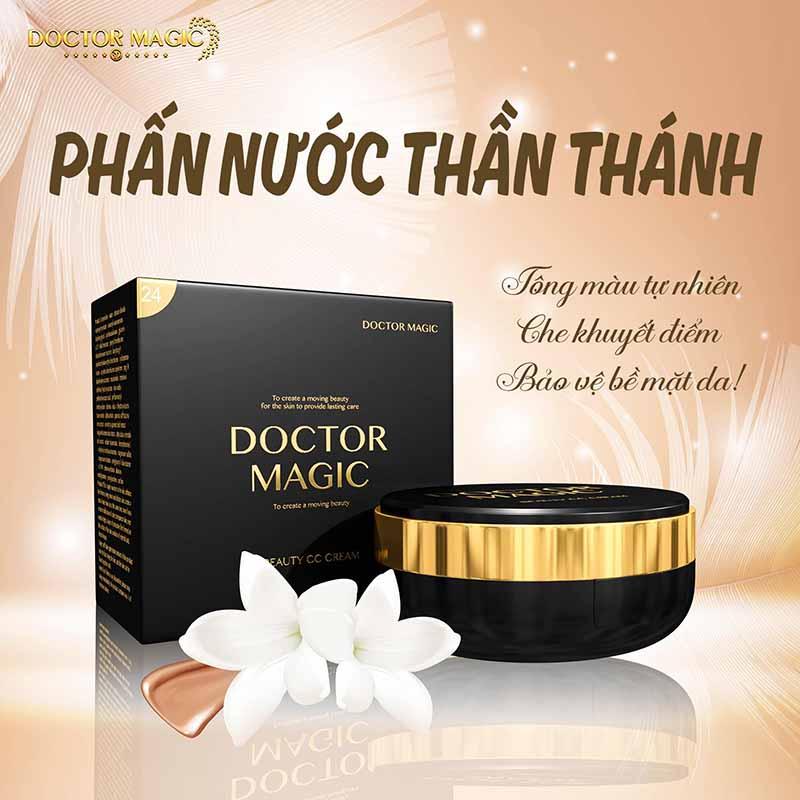 Review phấn nước thần thánh Doctor Magic