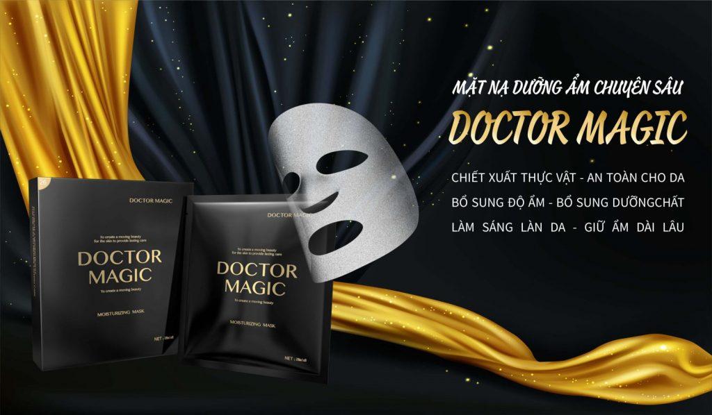 mặt nạ dưỡng ẩm doctor magic