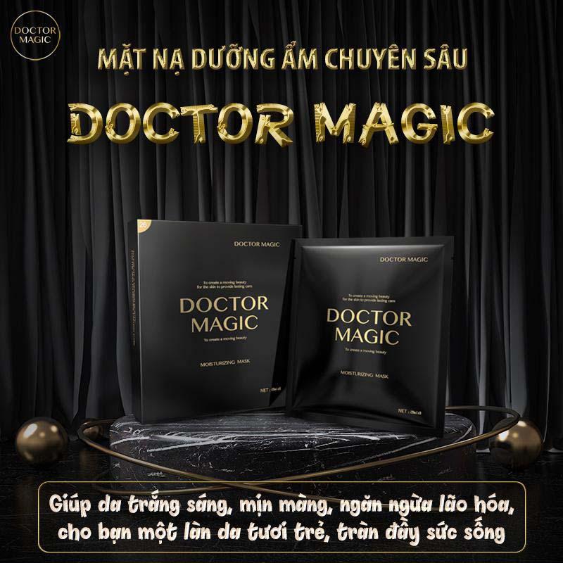 Review chất lượng M26 mặt nạ dưỡng ẩm doctor magic