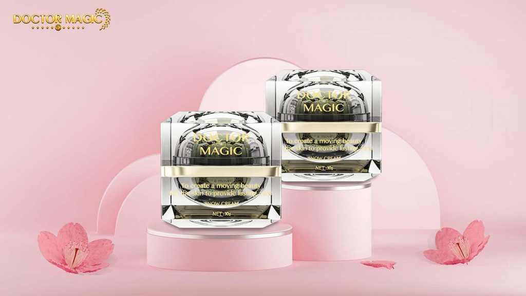 review khống chế sắc tố Doctor Magic