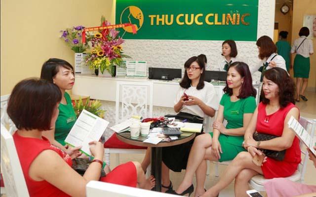 Thẩm mỹ viện thu cuc clinic ở HCM