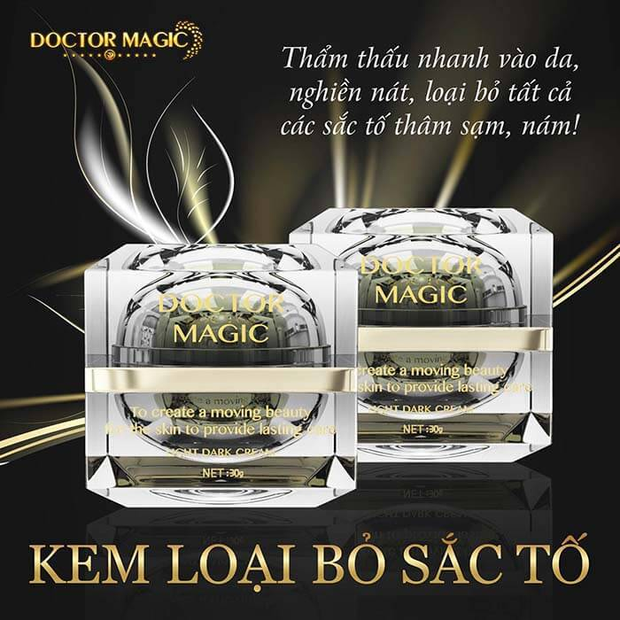 review kem loại bỏ sắc tố Doctor Magic