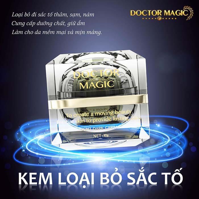 Review kem loại bỏ sắc tố Doctor Magic có tốt không