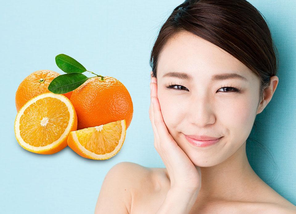 Dùng cam tươi trị mụn có hiệu quả không