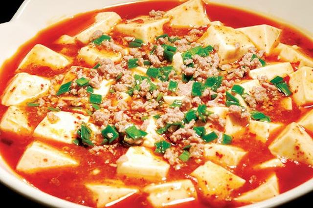 Đậu hũ sốt cà món ăn thường thấy ngày tết