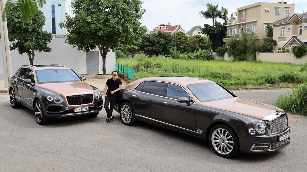 Bentley Mulsanne và Bentley Bentayga V8