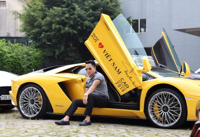 Lamborghini Aventador S Hoàng Kim Khánh