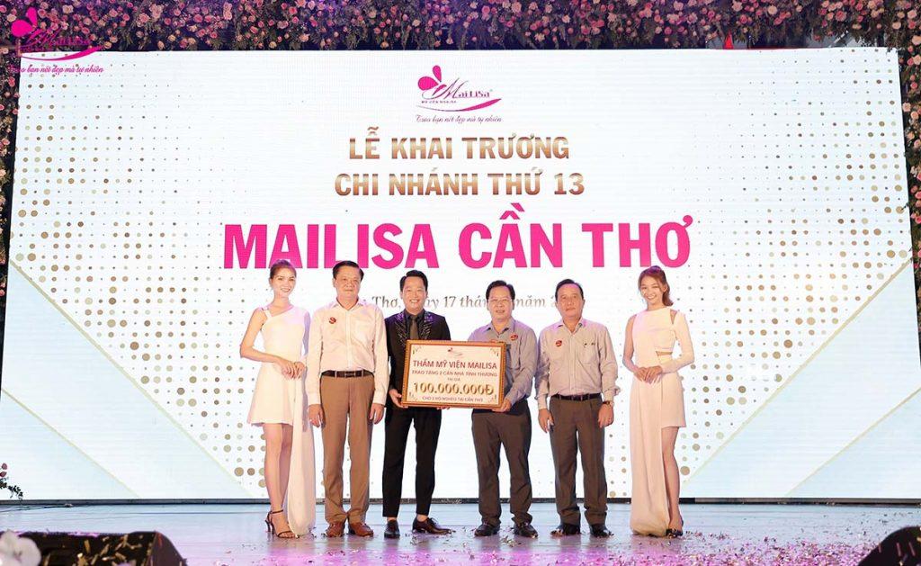 Mailisa trao tặng 100 triệu cho hộ nghèo Cần Thơ