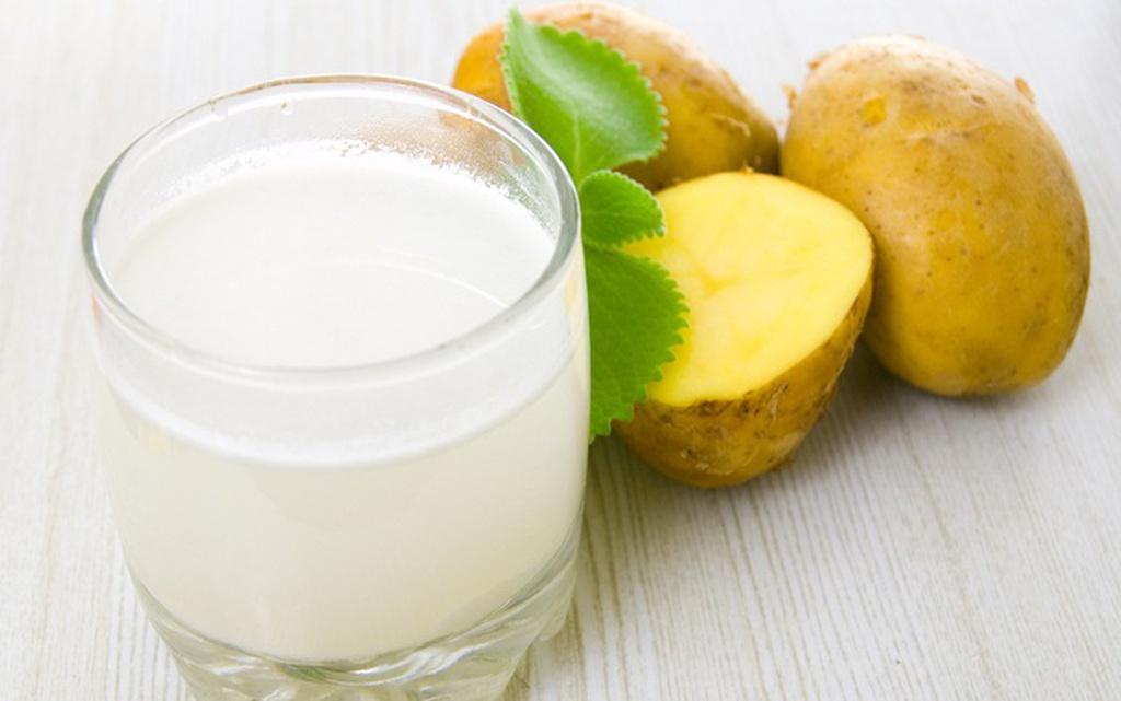 mặt nạ tự nhiên từ khoai tây, sữa tươi